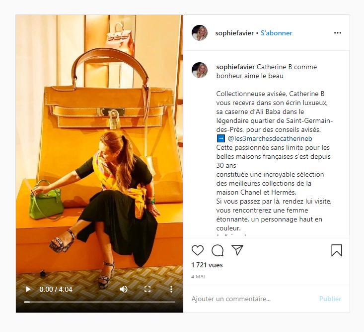 Instagram Sophie Favier